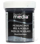 Decoart Media - Modeling Paste Black 118ml