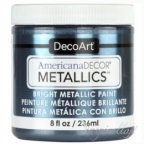 American Decor Metallics -  Pewter 236ml